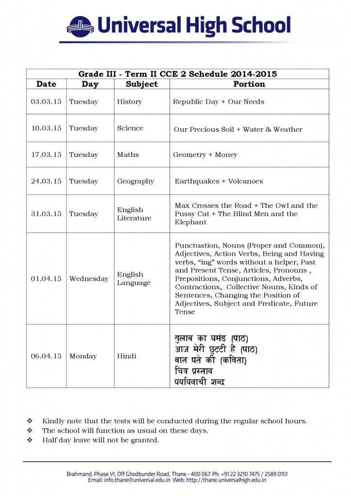 Grade_III_Term_II_CCE_2_Schedule