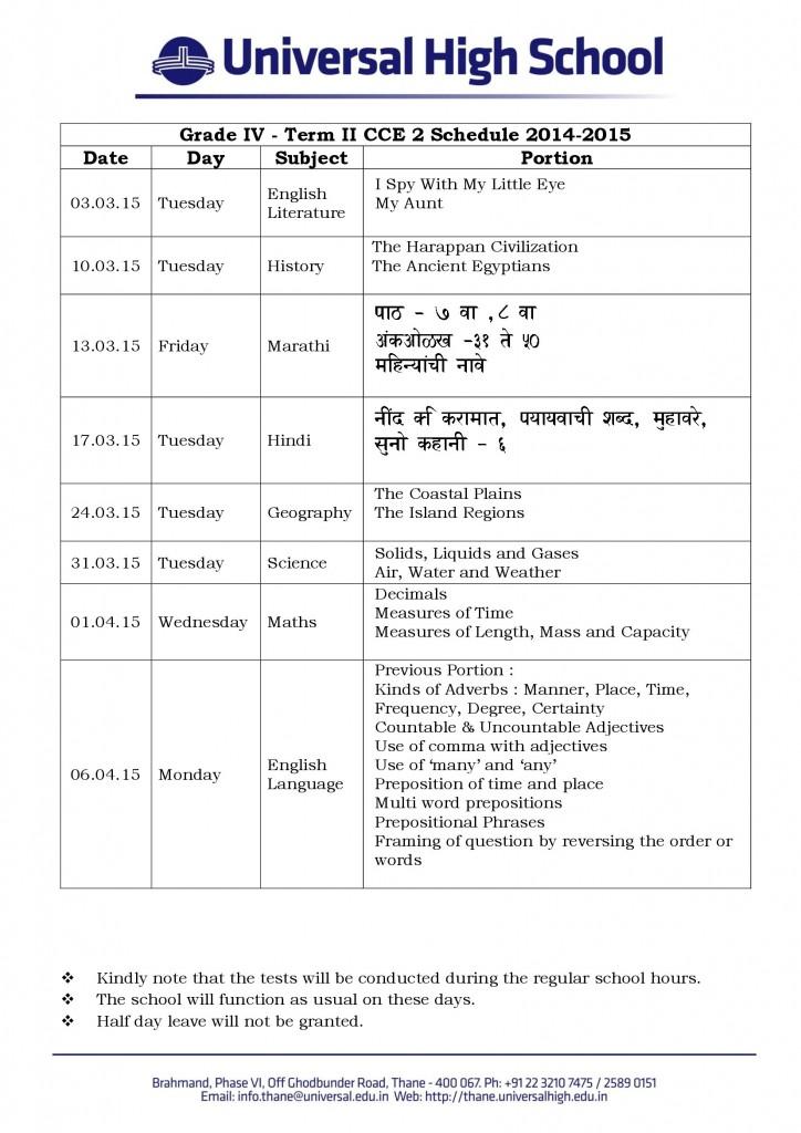 Grade_IV_Term_II_CCE_2_Schedule